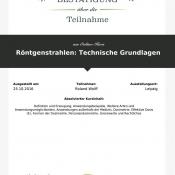 LECTURIO Online-Kurs Röntgenstrahlen