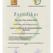 AEB Zertifikat
