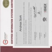 Zertifikat CISA