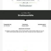 """LECTURIO-Onlinekurs """"Strahlenunfälle"""""""