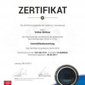 DGSV-Zertifikat