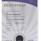 DGSV Zertifikat 1