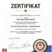 DGSV Zertifizierung 2018