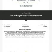 LECTURIO Online-Kurs Grundllagen Strahlenschutz