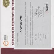 Zertifikat CRISC