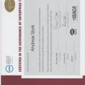 Zertifikat CGEIT