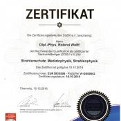 DGSV Re-Zertifizierung 2016