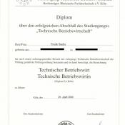 Diplom TBW (EA)