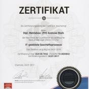 Zertifizierter Sachverständiger DGSV
