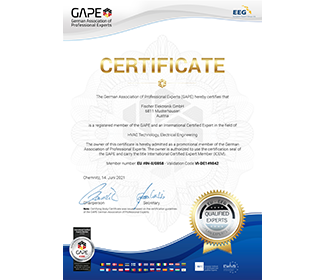 ICEM Certification