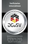 Siegel des DGuSV-Fördermitglieder