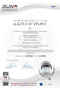 DGuSV-Firmen-Zertifizierung