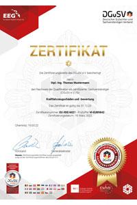 DGuSV-Personen-Zertifizierung