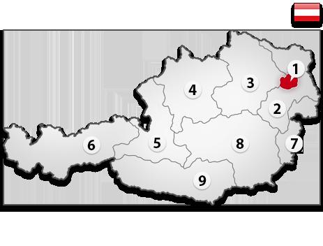 Gutachter in Österreich PLZ 1