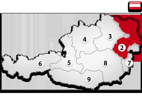 Gutachter in Österreich PLZ 2