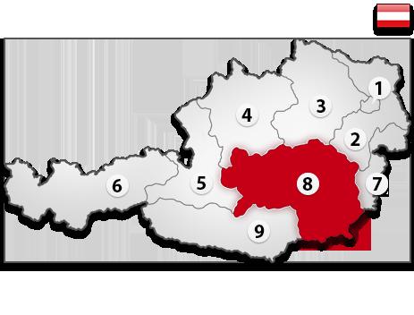 Gutachter in Österreich PLZ 8
