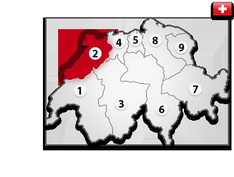 Gutachter in der Schweiz PLZ 2