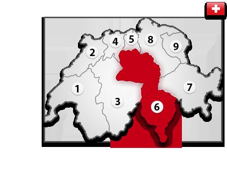 Gutachter in der Schweiz PLZ 6