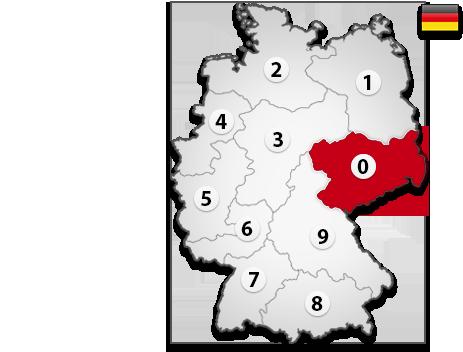 Gutachter in Deutschland PLZ 0