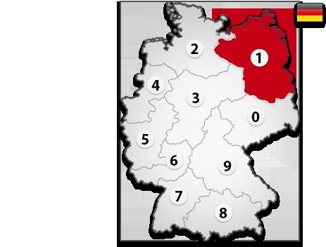 Gutachter in Deutschland PLZ 1