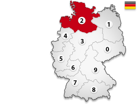 Gutachter in Deutschland PLZ 2