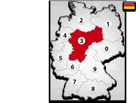 Gutachter in Deutschland PLZ 3