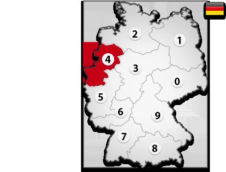 Gutachter in Deutschland PLZ 4