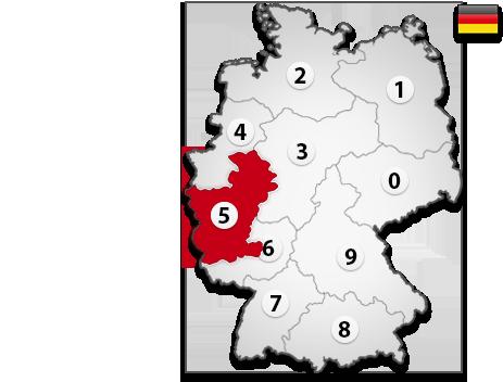 Gutachter in Deutschland PLZ 5