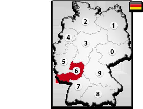 Gutachter in Deutschland PLZ 6