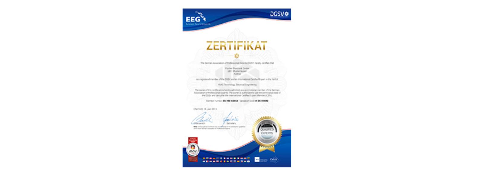 DGuSV-Zertifizierung