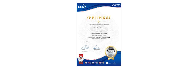 DGuSV Zertifizierung